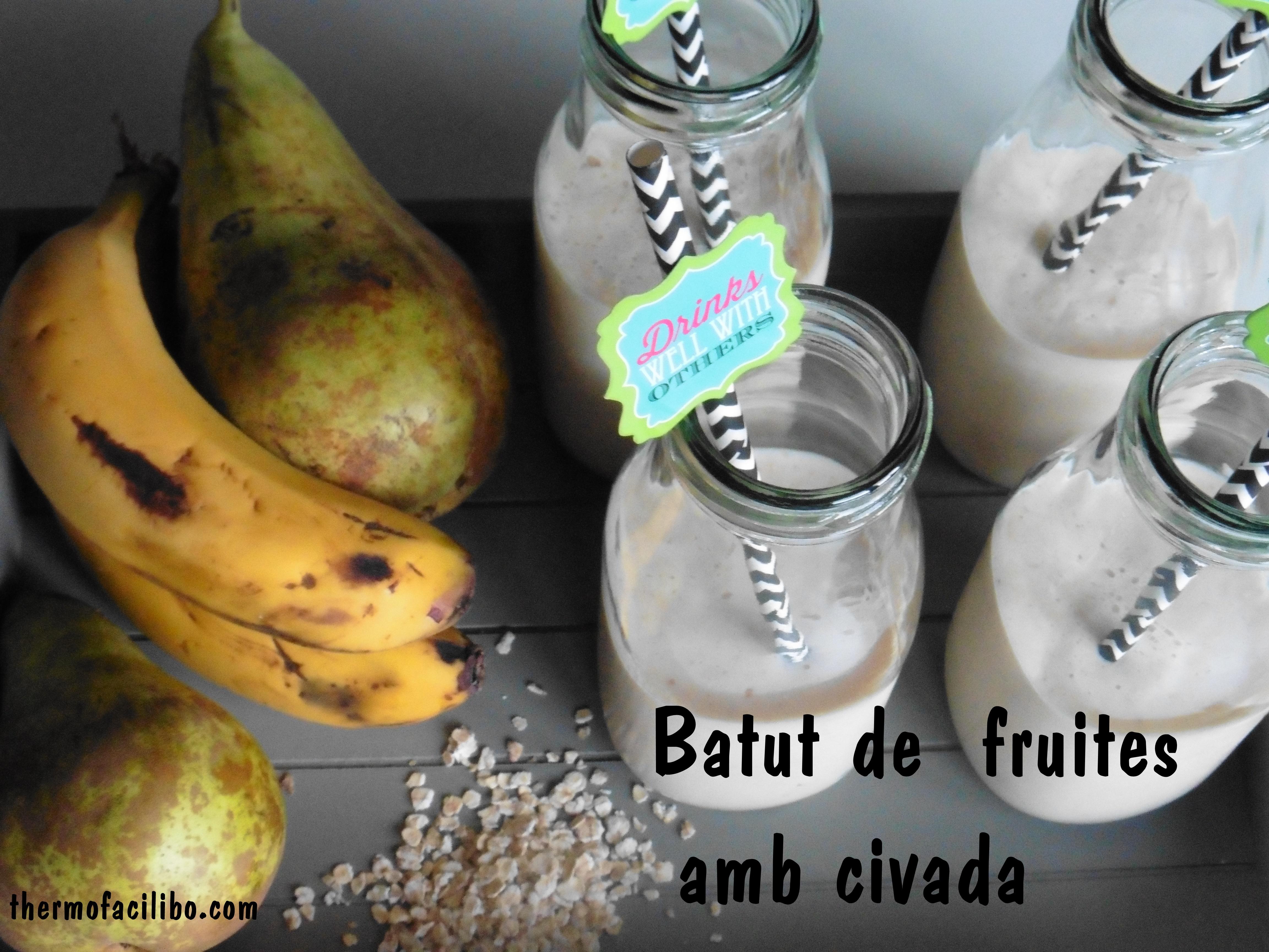 Batut de fruites amb civada 1