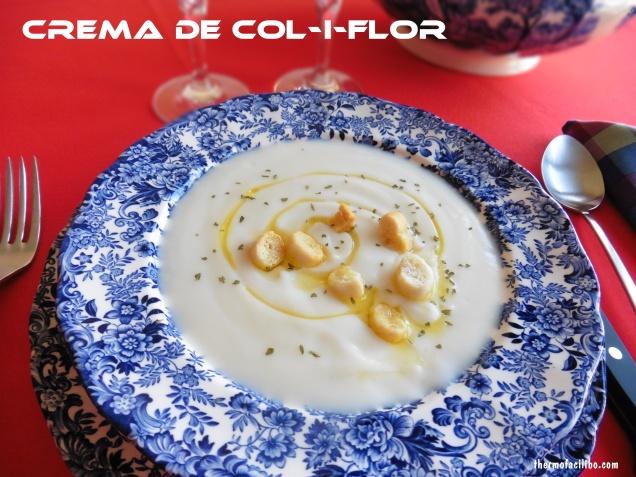 crema de col i flor