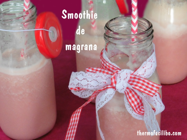 smoothie de magrana
