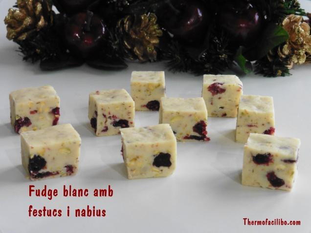fudge blanc amb festucs i nabius