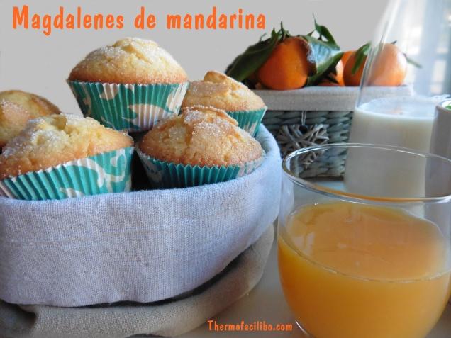 magdalenes de mandarina