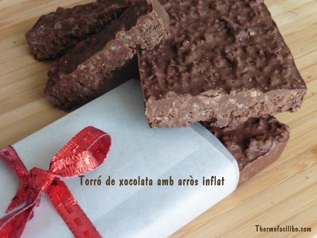 torró de xocolata