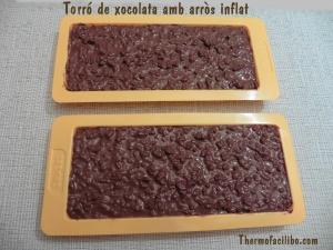 Torró de xocolata amb arròs inflat 3