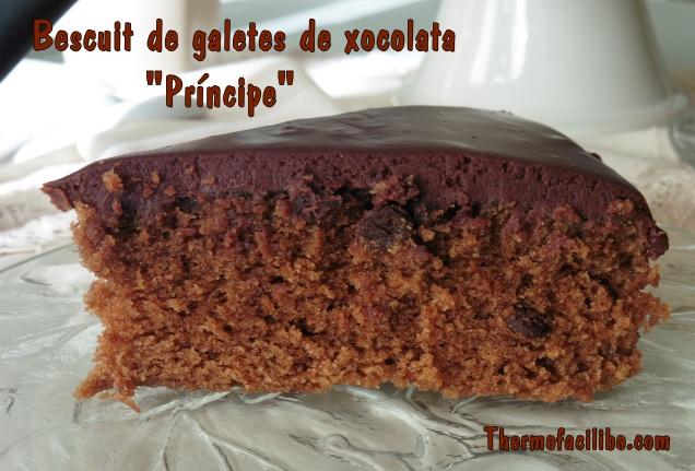 Bescuit de galetes de xocolata príncipe.6