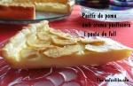 Pastís de poma amb crema pastissera i pasta de full