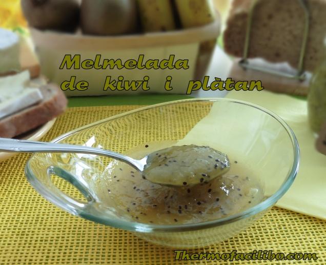 Melmelada de kiwi i plàtan 2