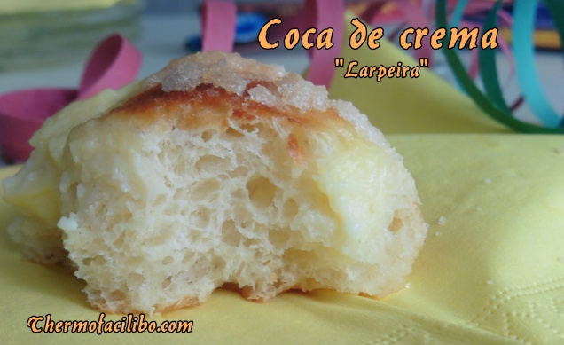 Coca de crema Larpeira