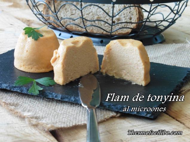 Flam de tonyina al microones.1
