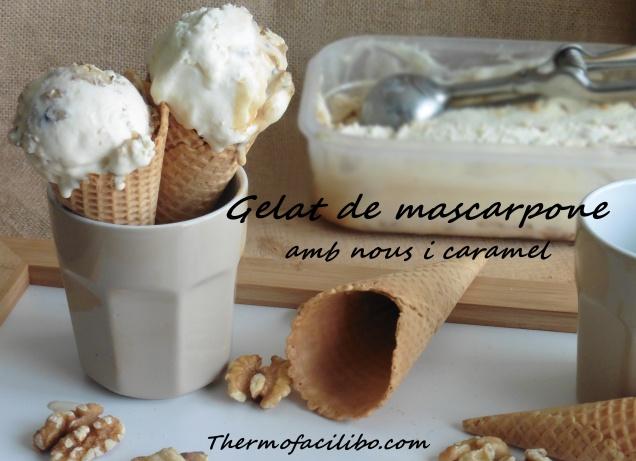 Gelat de mascarpone amb nous i caramel.2