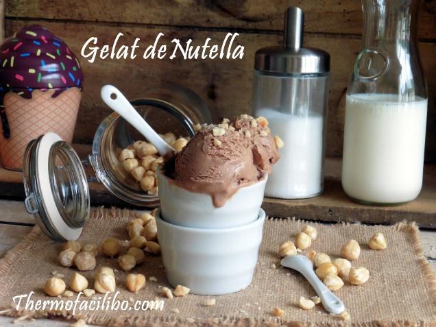 Gelat de Nutella.