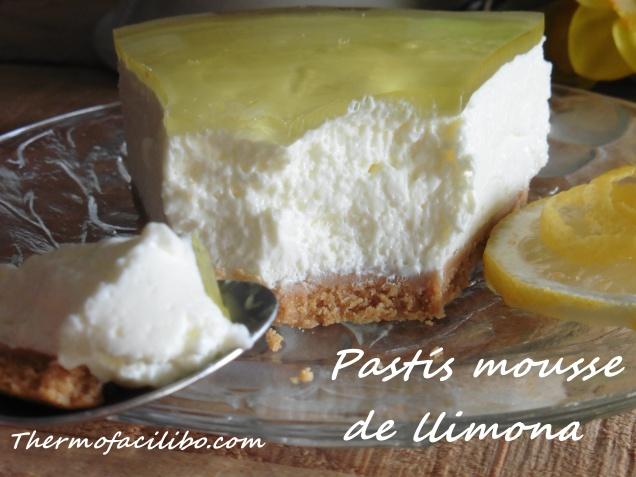 Pastís mousse de llimona.1
