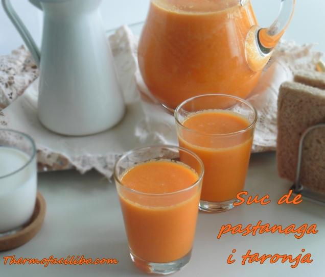 Suc de pastanaga i taronja.3