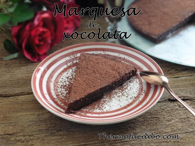 Marquesa de xocolata