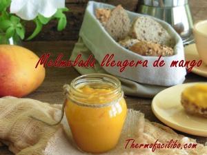 Melmelada lleugera de mango.