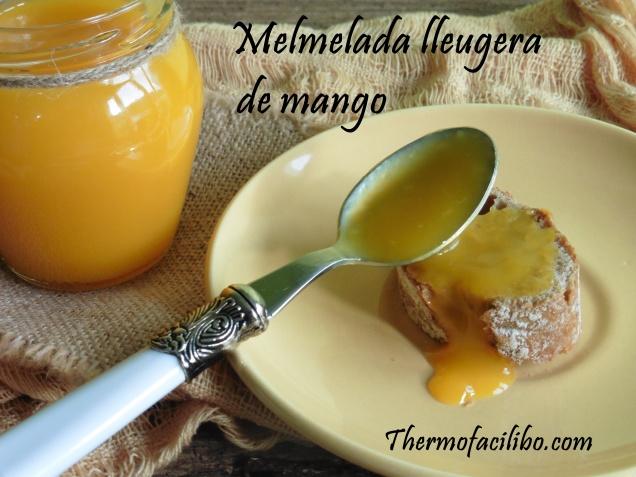 Melmelada lleugera de mango