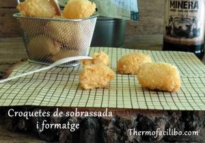 Croquetes de sobrassada i formatge..