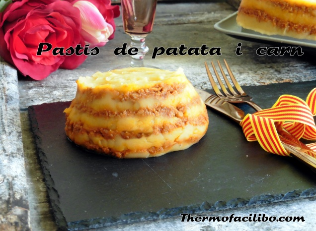 Pastís de patata i carn..