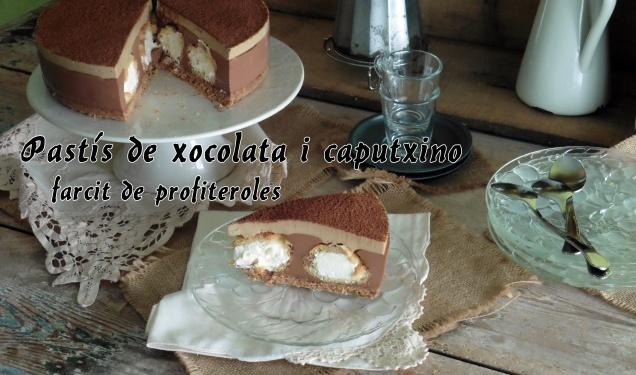Pastís de xocolata i caputxino.1