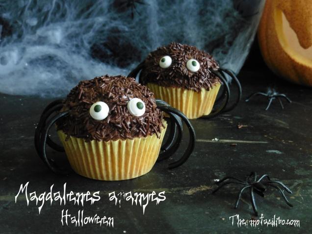 Magdalenes-aranyes per halloween