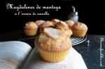 Magdalenes de mantega a l'aroma de vainilla .