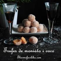 Trufes de moniato i coco