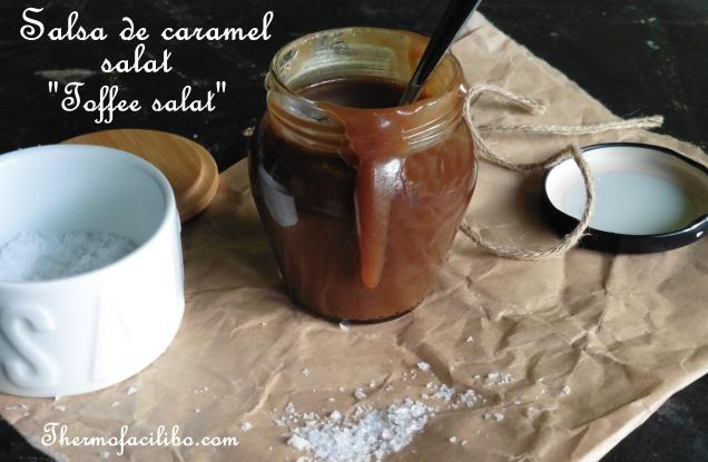 Salsa de caramel salat o toffee salat
