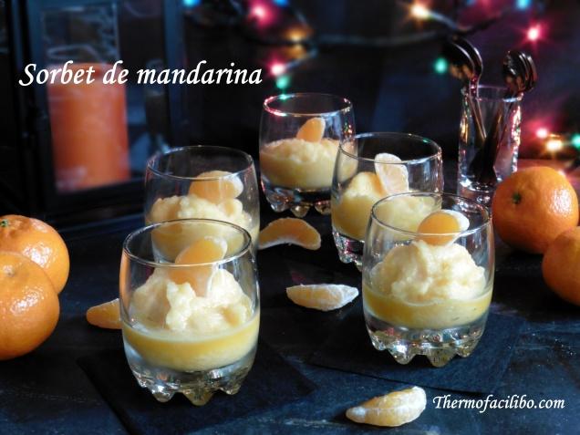 Sorbet de mandarina