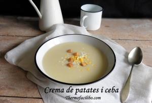 Crema de patates i ceba