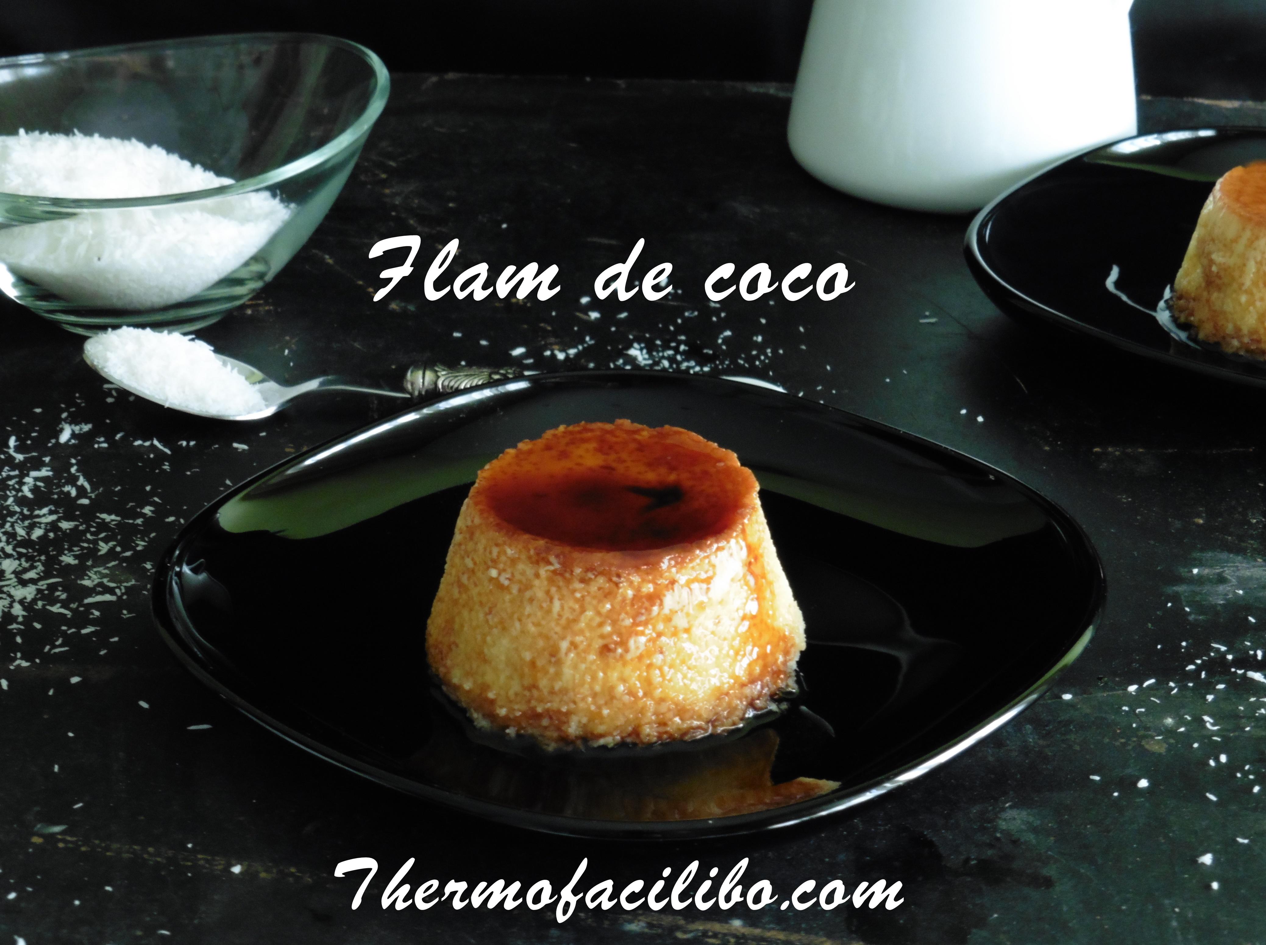 Flam de coco