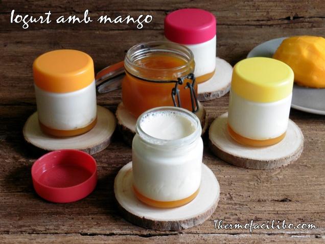 Iogurt amb mango
