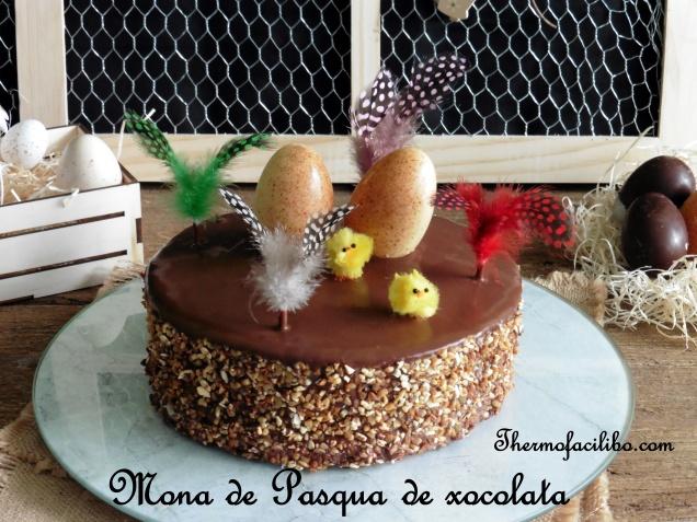 Mona de Pasqua de xocolata-