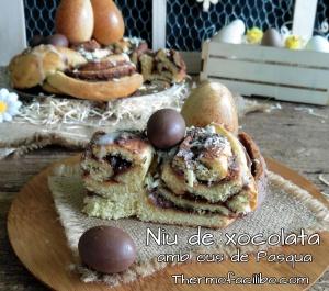 Niu de Xocolata amb ous de Pasqua+
