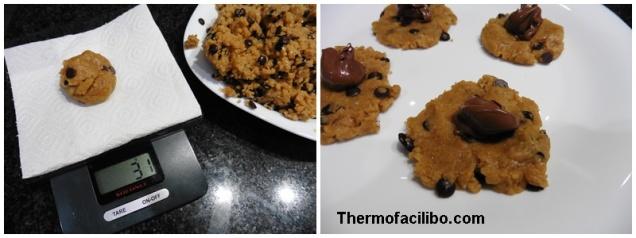 Cookies farcides de nutella