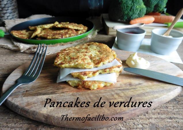 Pancakes de verdures