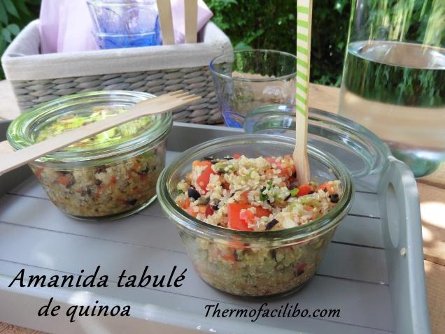 Amanida tabulé de quinoa