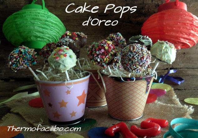 Cake Pops d'Oreo+