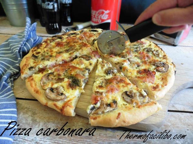 Pizza carbonara+3