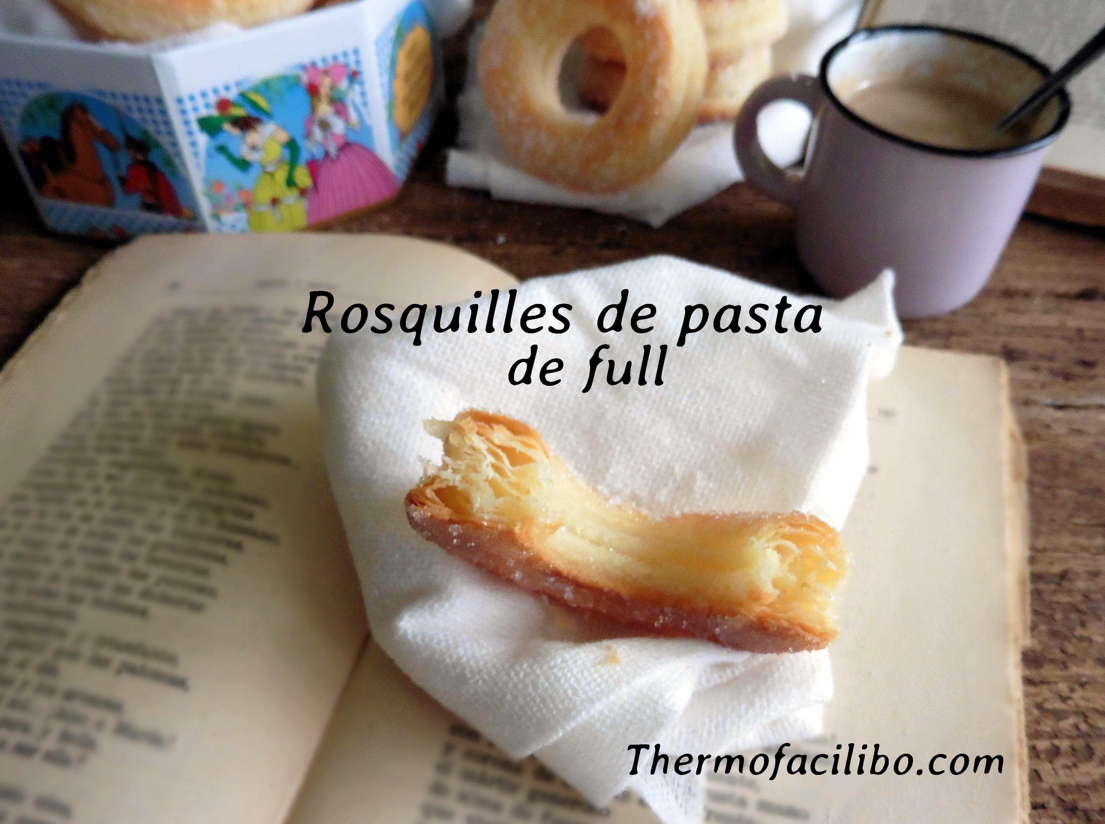 Rosquilles de pasta de full.2