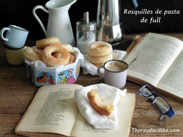 Rosquilles de pasta de full