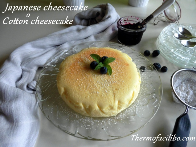 Japanese cheesecake.1