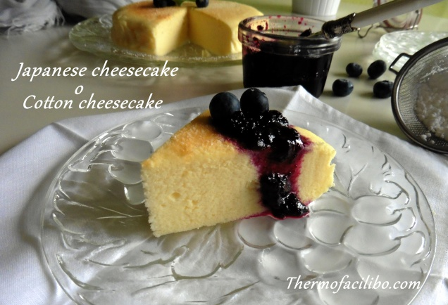 Japanese cheesecake.2