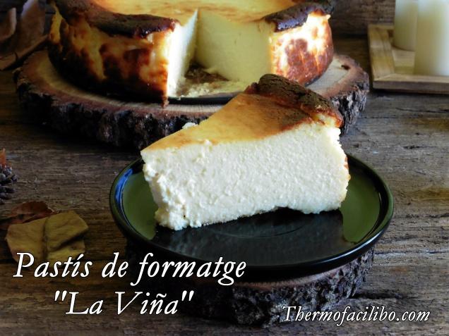 Pastís de formatge la viña+1