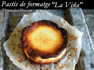 Pastís de formatge la viña++