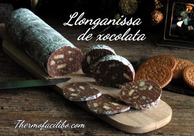 Llonganissa de xocolata+