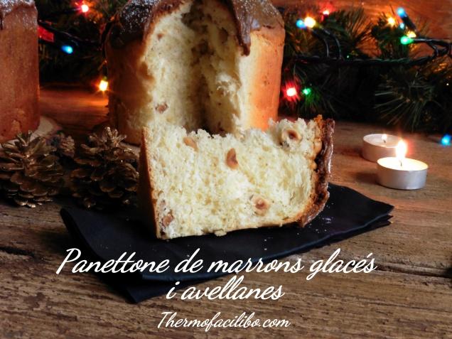 Panettone de marrons glacés i avellanes.2