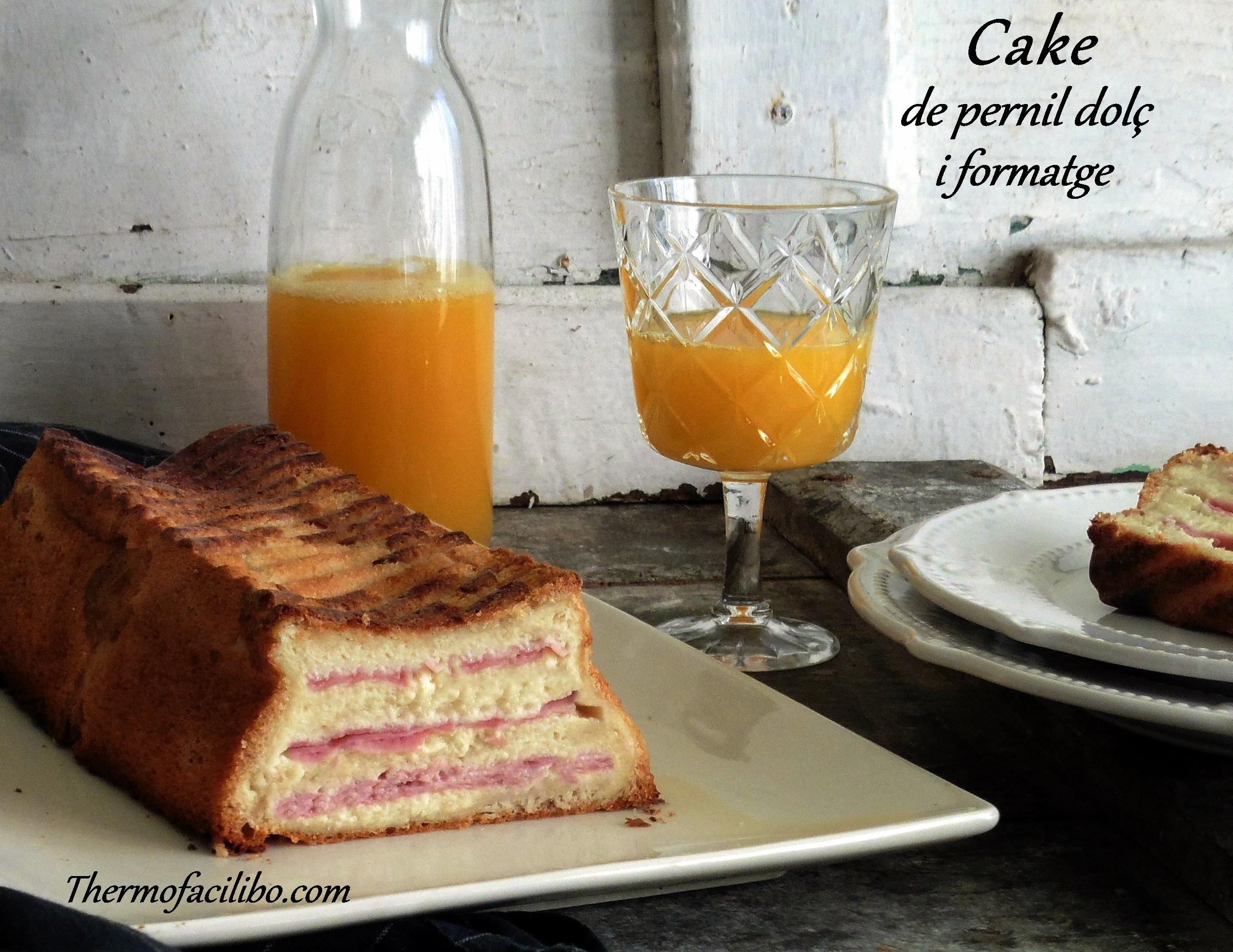 cake de pernil dolç i formatge+