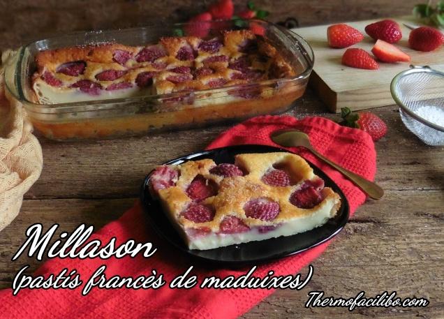 Millason (pastís francès de maduixes).
