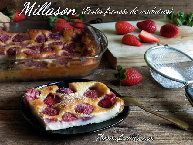 Millason (pastís francès de maduixes)