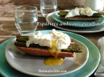 Espàrrecs amb ous escalfats