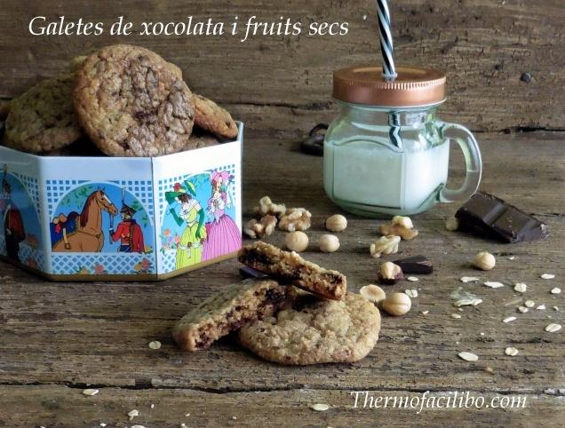 Galetes de xocolata i fruits secs